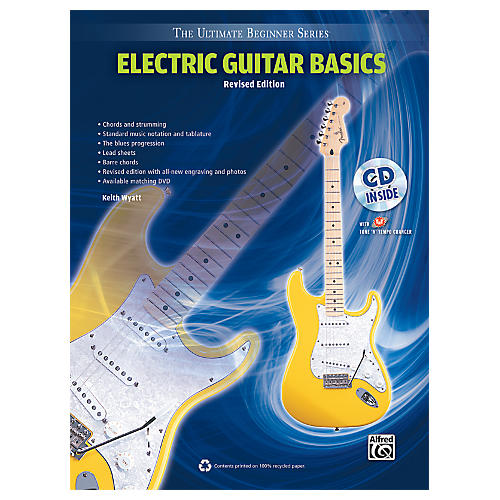 Alfred Ultimate Beginner Electric Guitar Basics (Revised Edition) Book & CD
