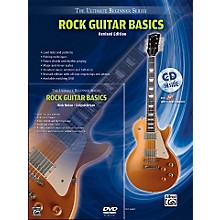 Alfred Ultimate Beginner Mega Pak Rock Guitar Basics (Rev. Ed.) Book, CD & DVD