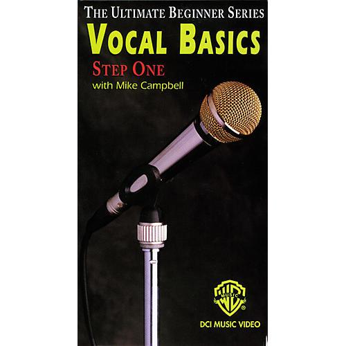 Alfred Ultimate Beginner Series - Vocal Basics, Step 1