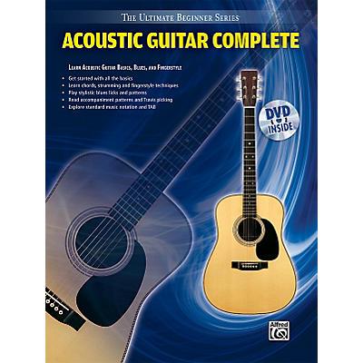 Alfred Ultimate Beginner Series: Acoustic Guitar Complete (Book/DVD)