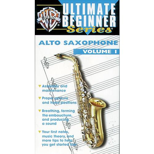 Alfred Ultimate Beginner Series: Alto Saxophone, Volume I Video