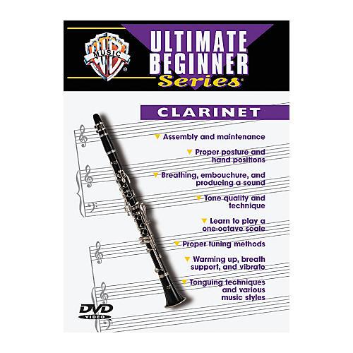 Warner Bros Ultimate Beginner Series Clarinet (DVD)