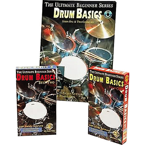 Warner Bros Ultimate Beginner Series Drum Basics Step One Video Pack