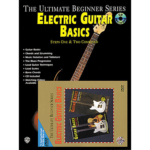 alfred ultimate beginner series electric guitar basics book cd dvd musician 39 s friend. Black Bedroom Furniture Sets. Home Design Ideas