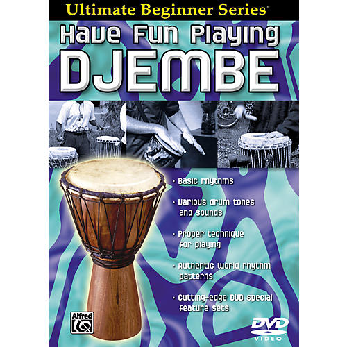 Alfred Ultimate Beginner Series Have Fun Playing Hand Drums Djembe DVD