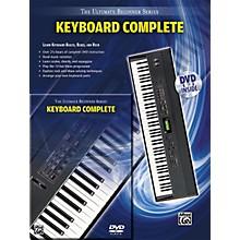 Alfred Ultimate Beginner Series Keyboard Complete Book & DVD