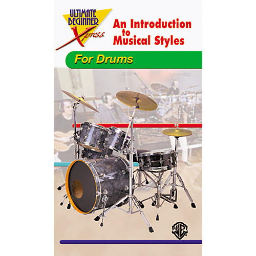 Alfred Ultimate Beginner Xpress - Drum Styles