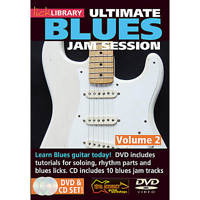 Licklibrary Ultimate Blues Jam Session (Volume 2) Lick Library Series DVD Performed by Stuart Bull