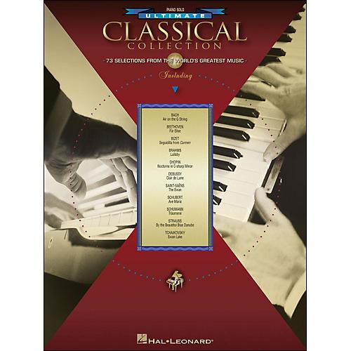 Hal Leonard Ultimate Classical Collection Piano Solo