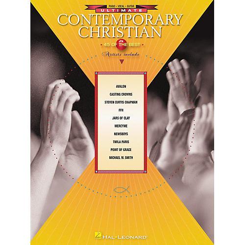 Hal Leonard Ultimate Contemporary Christian Piano, Vocal, Guitar Songbook