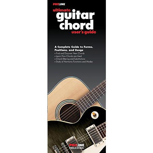 Proline Ultimate Guitar Chord User's Guide Book