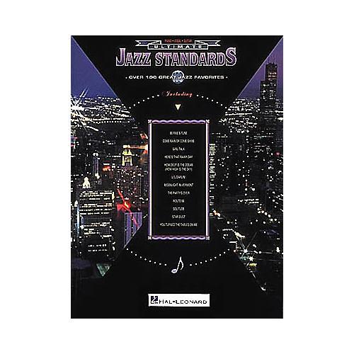 Hal Leonard Ultimate Jazz Standards Piano/Vocal/Guitar Songbook