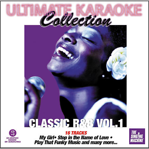 The Singing Machine Ultimate Karaoke Collection Classic R'n'B Volume 1 Karaoke CD+G