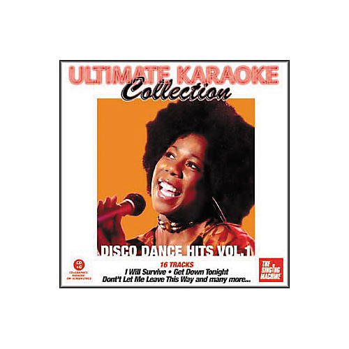 The Singing Machine Ultimate Karaoke Collection Disco Dance Hits Volume 1 Karaoke CD+G