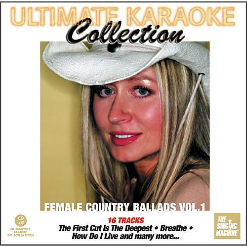 The Singing Machine Ultimate Karaoke Collection Female Country Ballads Volume 1 Karaoke CD+G