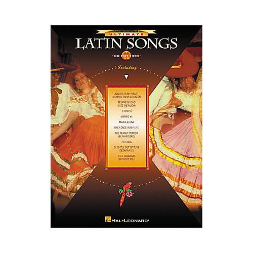 Hal Leonard Ultimate Latin Songs Book