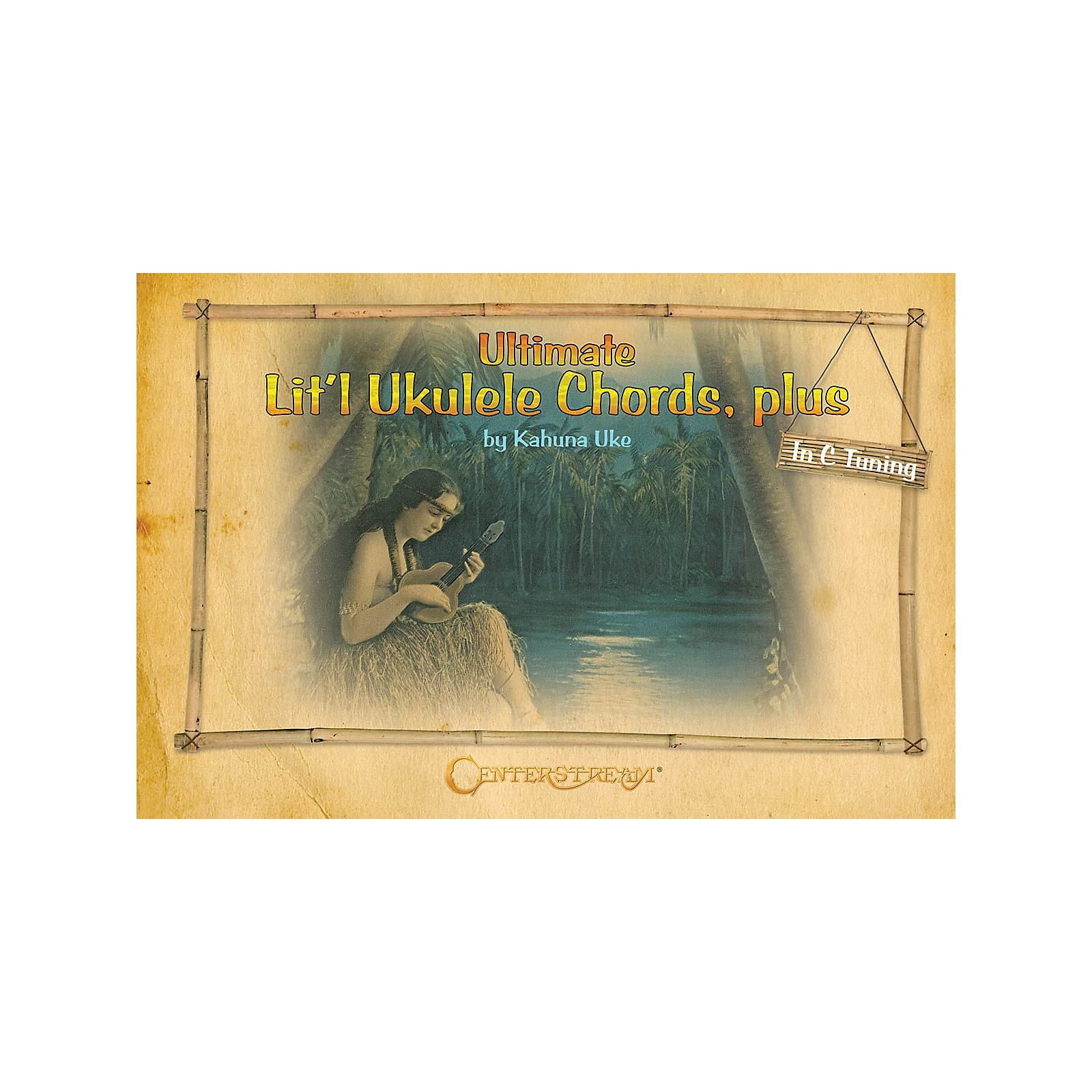 Centerstream Publishing Ultimate Lit'l Ukulele Chords, Plus Fretted Series Softcover Written by Kahuna Uke