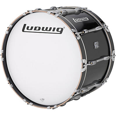 Ludwig Ultimate Marching Bass Drum - Black