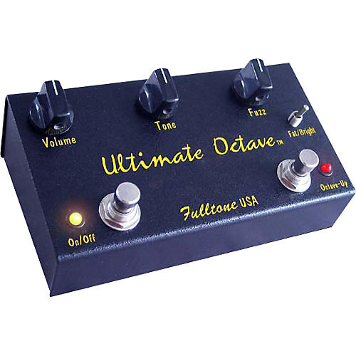 fulltone ultimate octave guitar effects pedal musician 39 s friend. Black Bedroom Furniture Sets. Home Design Ideas