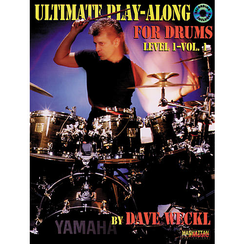 Alfred Ultimate Play-Along for Drums - Level 1 - Volume 1 Book/CD
