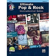 Alfred Ultimate Pop & Rock Instrumental Solos for Strings Violin Book & CD