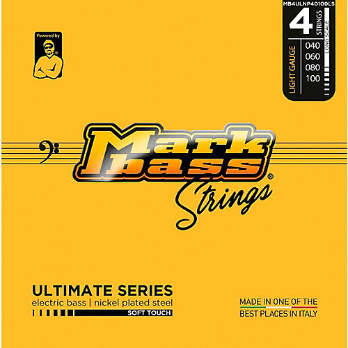 Markbass Ultimate Series Soft Touch Electric Bass Nickel Plated Steel Strings (40 - 100) Light