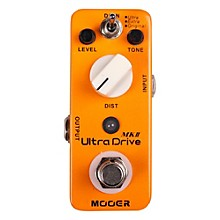 Open BoxMooer Ultra Drive MKII Micro Distortion Guitar Effects Pedal