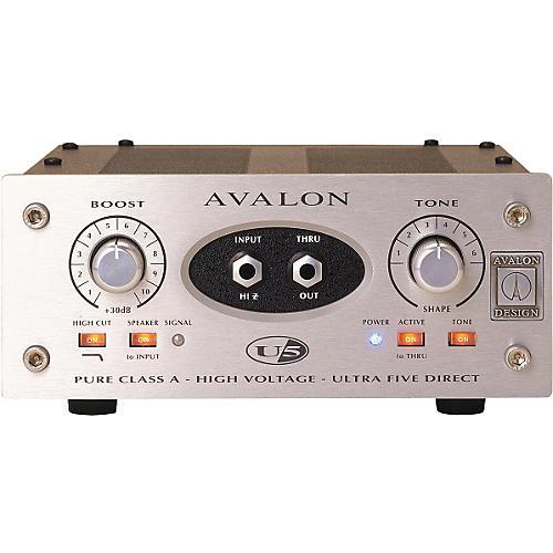 Avalon Ultra Five Direct Box Instrument Preamplifier