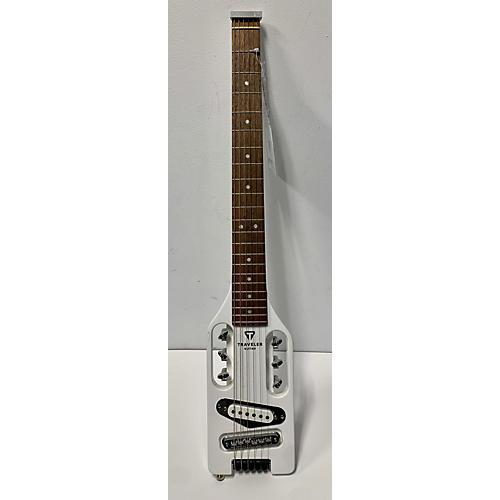 Traveler Guitar Ultra Light Acoustic Guitar White