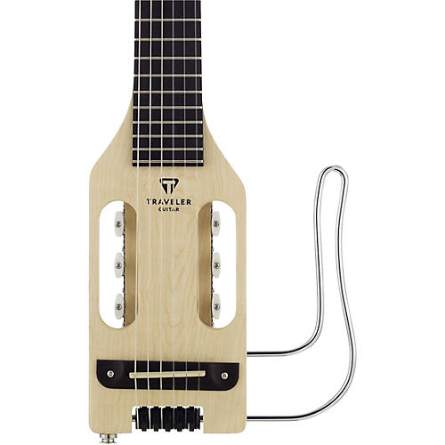 Traveler Guitar Ultra Light Nylon Acoustic Electric Travel Guitar Natural Musician S Friend