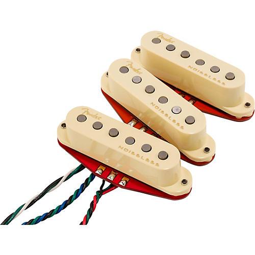 Fender Ultra Noiseless Hot Stratocaster Pickups Aged White