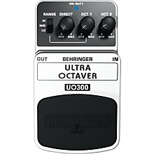 Open Box Behringer Ultra Octaver UO300 3-Mode Octaver Effects Pedal