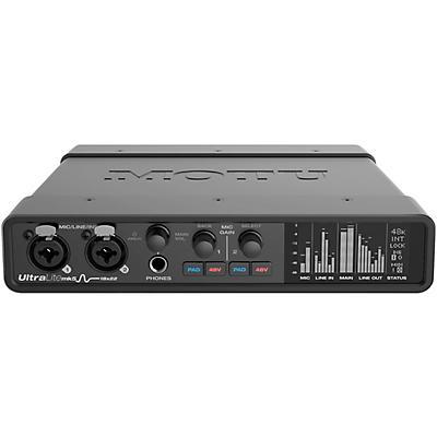 MOTU UltraLite-mk5 USB Audio Interface