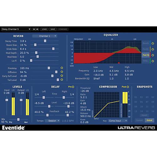 Eventide UltraReverb Native Plug-in Software Download