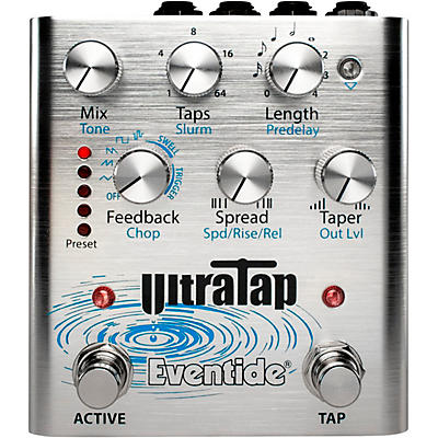 Eventide UltraTap Delay/Reverb Multi-Tap Effects Pedal