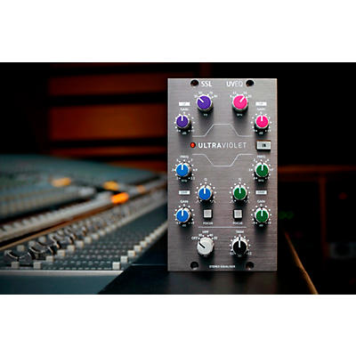 Solid State Logic UltraViolet EQ 500 Series Stereo EQ