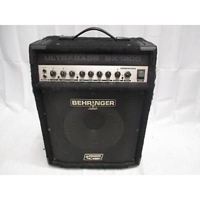 Behringer Ultrabass BX1200 120W 1x12 Bass Combo Amp