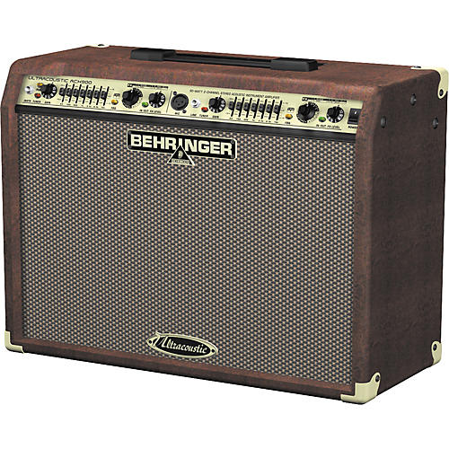 behringer ultracoustic at108 acoustic combo amp review