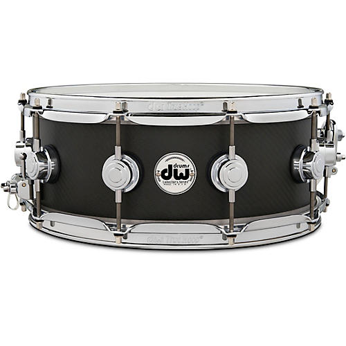 DW Ultralight Carbon Fiber Edge Snare Drum 14 x 5.5 in. Carbon Fiber