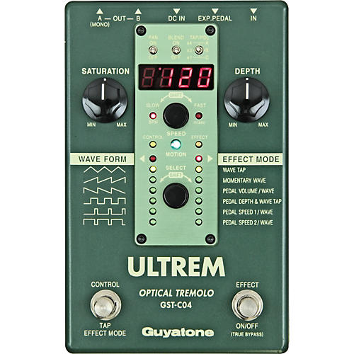Guyatone Ultrem Optical Tremolo Effects Pedal
