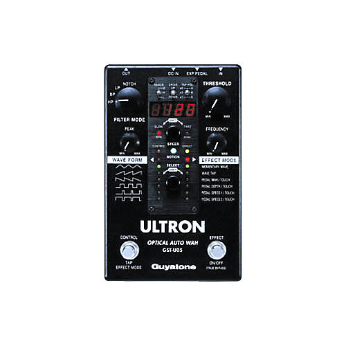 Guyatone Ultron Optical Auto Wah Effects Pedal