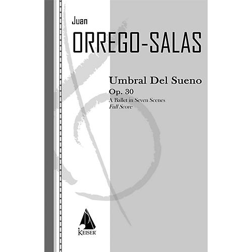 Lauren Keiser Music Publishing Umbral Del Sueno, Op. 30 LKM Music Series by Juan Orrego-Salas