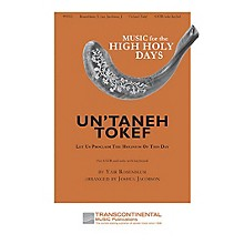 Transcontinental Music Un'Taneh Tokef SATB arranged by Joshua Jacobson