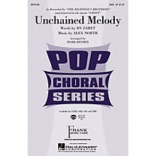Hal Leonard Unchained Melody SATB by The Righteous Brothers arranged by Mark Brymer