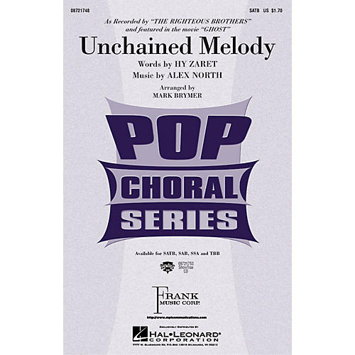 Hal Leonard Unchained Melody SSA by The Righteous Brothers Arranged by Mark Brymer