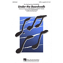 Hal Leonard Under the Boardwalk TTBB A Cappella by The Drifters Arranged by Mark Brymer