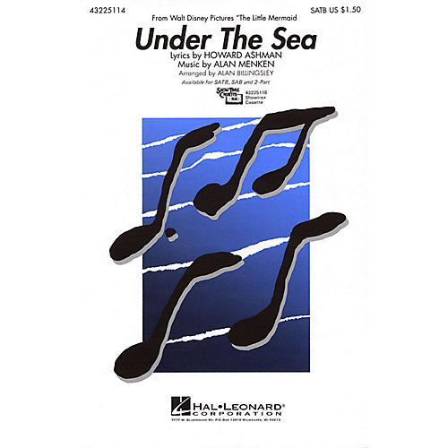 Hal Leonard Under the Sea ShowTrax CD Arranged by Alan Billingsley