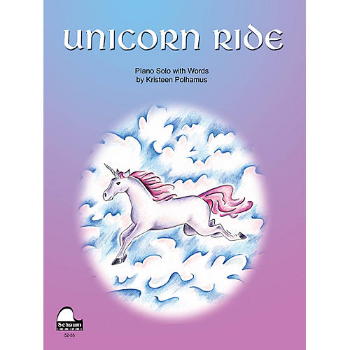 SCHAUM Unicorn Ride Educational Piano Series Softcover