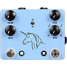 Open Box JHS Pedals Unicorn Uni-Vibe Photocell Modulator with Tap Tempo Effects Pedal