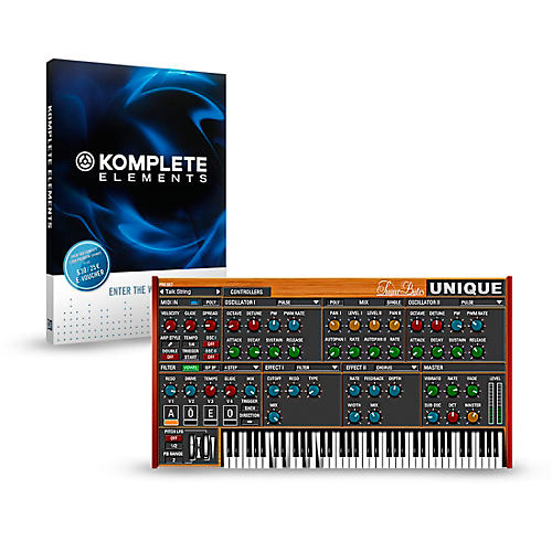 SUGAR BYTES Unique with KOMPLETE ELEMENTS Bundle